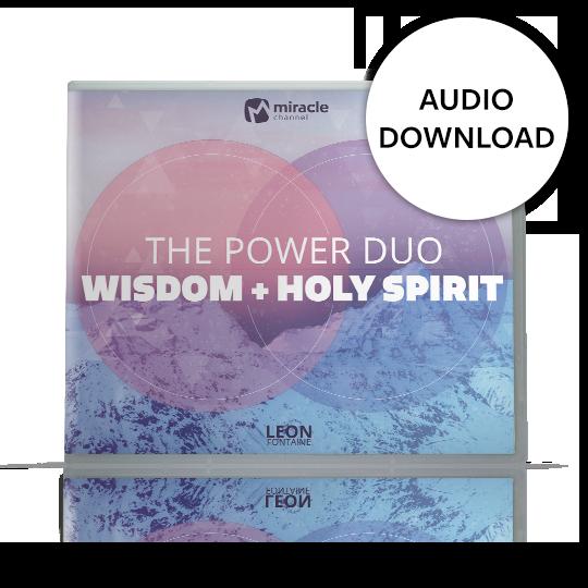 The Power Duo: Wisdom + Holy Spirit — Audio Download