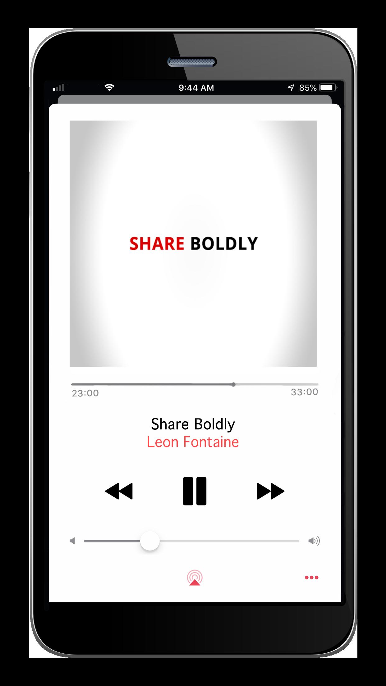 Share Boldly